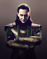 Loki - Fan Art by AndromedaDualitas