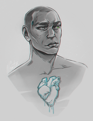 Markus   Detroit: Become human by NagoyaKiD