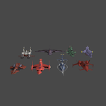 Mobile Suit Gundam Ship Pack 1 XNAlara Model Pack  by Metalscourge18ZX