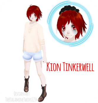 .:MMD Newcomer:. Kion Tinkerwell by TheKagamineTwins1234