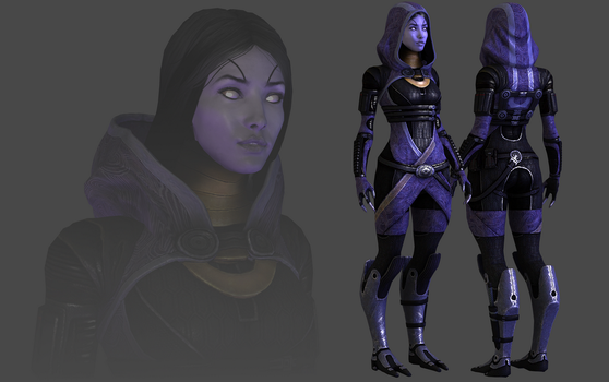 Tali Default with Face and Adjustable Hood by TheRaiderInside