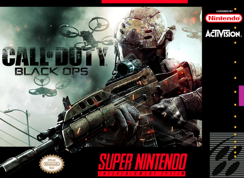 Black Ops SNES Cover by ShoguN86