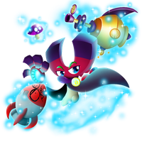 PvZ Heroes Fanmade: Magnetron by JackieWolly