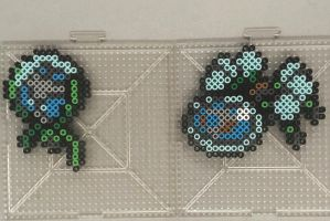 #751-#752 Dewpider and Araquanid Perlers