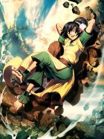 Avatar - Toph Bei Fong by GENZOMAN
