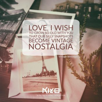 Vintage Nostalgia by Kiyo-Poetry