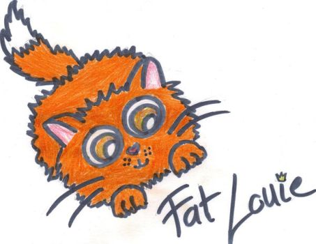 Fat Louie by DorottyaS