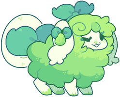 [Custom Flufferbun] - Green Pears by blushbun