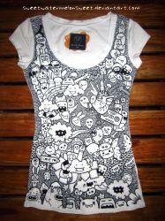 Doodle Shirt by sweetWATERMELONsweet