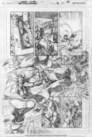 RAVAGER p.5 page 5 pencils by Cinar