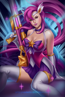 Star Guardian Caitlyn by Naderia