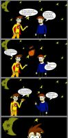 Yellow Avenger and the tg Genie part 1 by epic-agent-63