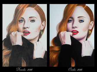 Draw this again - Sophie Turner by Jaenelle-20