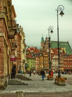 Old Town in Warsaw by HeretyczkaA