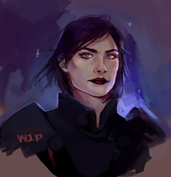 Shep WIP by StarshipSorceress