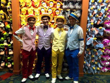 Dapper Dans at Disney by patricktomas