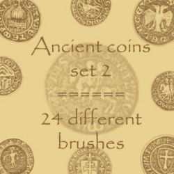 Ancient Coins 2 by rL-Brushes