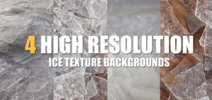 HIGH RESOLUTION ICE BACKGROUND STOCK TEXTURES by SamtriX