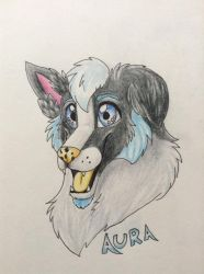 Aura Badge by InuMimi