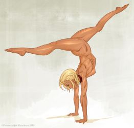 Alacrity's 2 Hands Handstand by THEJETTYJETSHOW