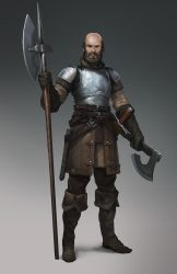 Medieval dude by Zoonoid