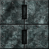 Grey Metal Tiles 01 (Alternate) by Hoover1979
