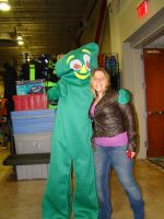 Me with Gumby! by StephieLuff