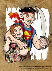 The Goonies by scarecrowhassan