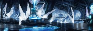 Injustice: Gods Among Us - Fortress Of Solitude by atomhawk