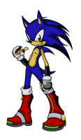 Sonic Ellipse - Sonic by Cornelious-Raidon