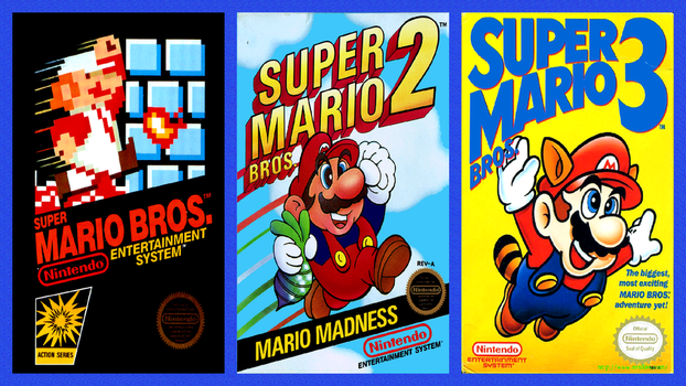 Super Mario Bros. Classic Trilogy Wallpaper by happydreamer96
