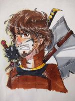 Sir Ivan w/ Markers by TheChocolateArmor