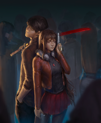 My Commission: (Masterless and Rage 3) Our Fate by gh0st-of-Ronin