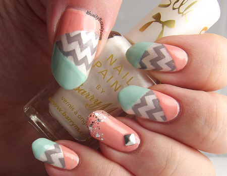 Refreshing Pastels With A Soft ZigZag by Ithfifi