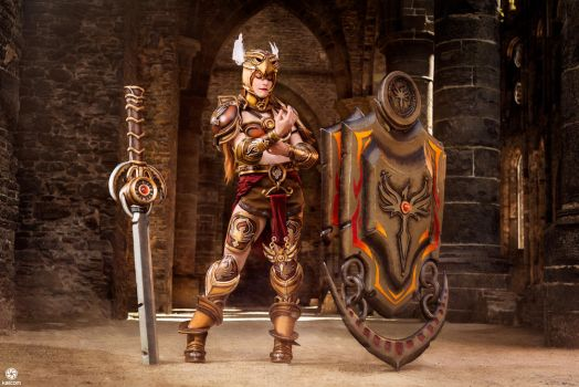 Leona Valkyrie   League Of Legends by kaihansen3004