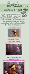 Gimp Tutorial: Lighting Effects by Xadrea