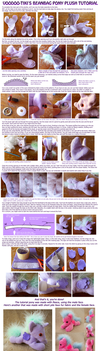 Beanbag Pony Plushie Tutorial - part 2 by Voodoo-Tiki