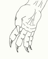 Therianthrope Hand by dracontes