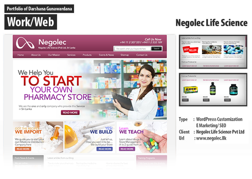 Negolec Official Website by darshana4it