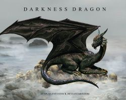 E-S Darkness Dragon by Elevit-Stock