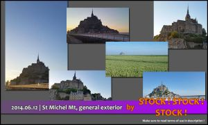 2014.06.12 | St Michel Mount General Exterior by Stock-Stock-Stock