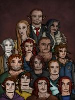 The noble house of Redwolf by EmiliAlys