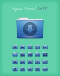 Aqua Pastel Dark for IP by dafmat71
