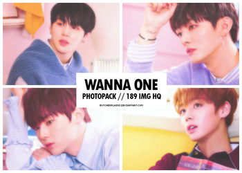 Wanna One - photopack #05 by butcherplains
