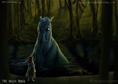 The Brook Horse by Viwiette