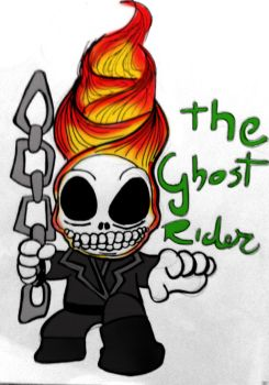 Ghost Rider by edsonhcs