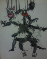Mangle (The Fourth Closet) by FreddleFrooby
