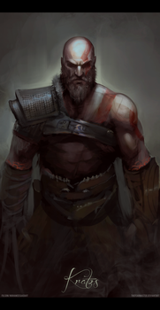 Dad Of War sketch by TheFearMaster