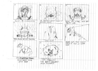 The Beast in Space Storyboards Part III by DTrinidad