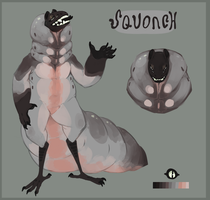 Squonch | Cypherus Grem Auction (CLOSED) by ToothlessEgo